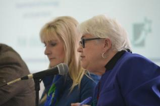 Sen. Soucy and Sen. Martha Fuller Clark