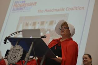 The Handmaids Coalition at NH Progressive Summit