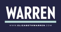 Elizabeth Warren Blue